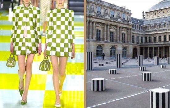 Read more about the article Louis Vuitton and Daniel Buren 2013
